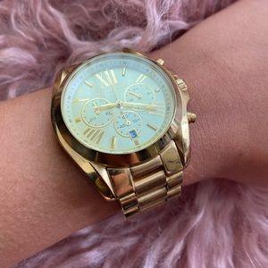 Michael Kors Bradshaw Gold Stainless Steel Watch